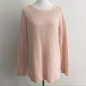 LOFT Oversized Tunic Style Sweater